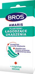 BROS - AMARIUS - Plasterki Łagodzące ukąszenia 20szt