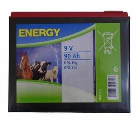 Bateria ENERGY 9V 90Ah do Elektryzatorów