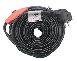 Kabel grzewczy przewód grzejny 12m termostat KERBL