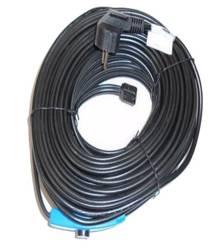 Kabel grzewczy przewód grzejny 36m z termostatem NIEBIESKI