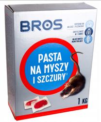 PASTA trutka miękka na myszy szczury 1kg Bros