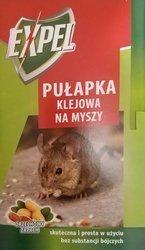 Pułapka klejowa lep na Myszy EXPEL orzechowy