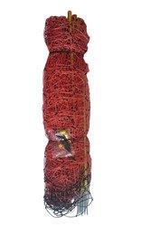 Siatka elektryczna dla owiec 50m 90cm, pomarańczowa pojedyńczy szpic