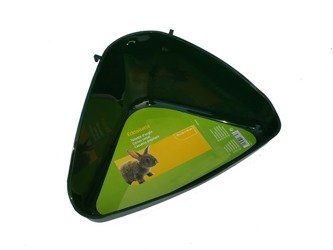Toaleta Kuweta dla Królika Świnki cm 35x22x22 h16 ciemna zieleń   / wycofana