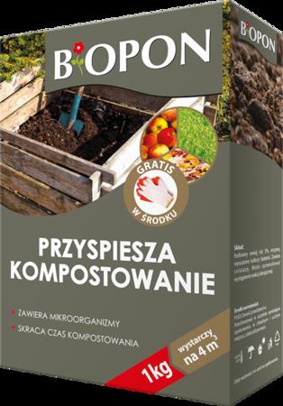 BIOPON preparat przyspieszający kompostowanie 1kg