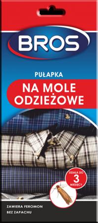 BROS Pułapka feromonowa na mole odzieżowe 1szt