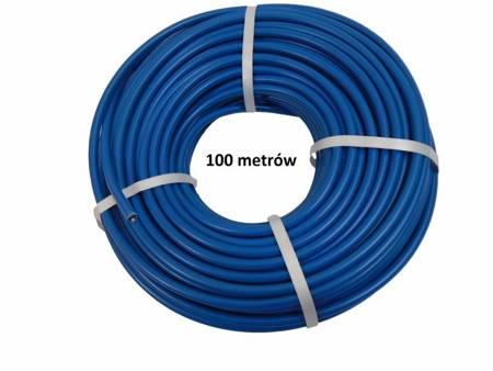 Kabel wysokiego napięcia 1,32mm 100 m miedziany 20,000V niebieski FISOL