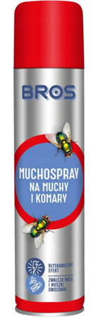 Muchospray 1000/750ml Bros na owady latające