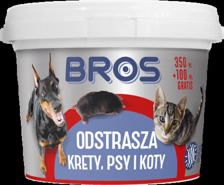 Odstraszacz krety, psy, koty 450ml (350+100) Bros