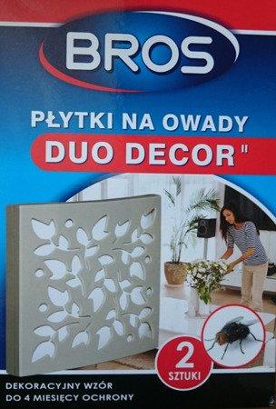 Płytka na owady DUO-DECOR -2szt  Bros
